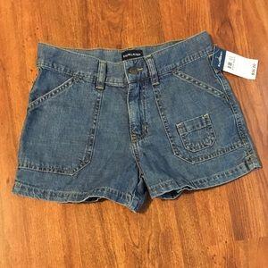 NWT Ralph Lauren Girls Classic Denim Shorts 10